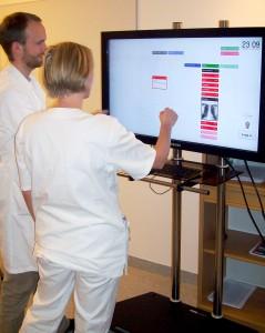 Brukbarhetstesting av digital tavleløsning